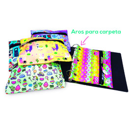 PACK CARTUCHERA CARPETA CORDURA X 20 UNIDADES